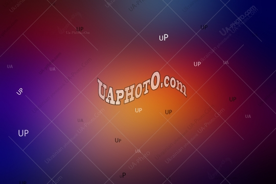 Abstract Blurred Gradient Background in Dark Key. Blue, Violet,