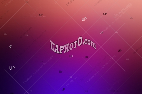 Abstract blurred gradient background in dark tonality. Violet, p