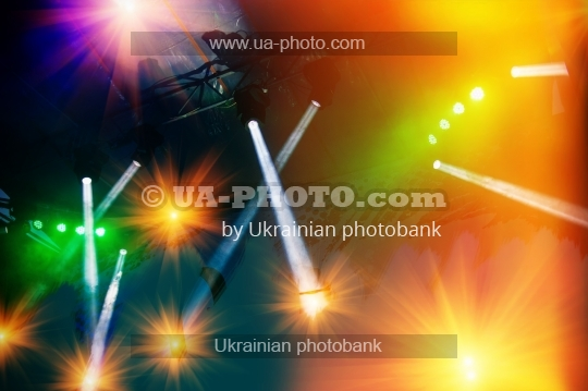 concert stage lighting and lighting effects